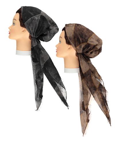 Women Diamond Pre-tied Headscarves