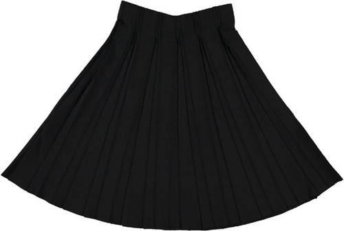 Women's 25 Inches Knit Pleated Skirt