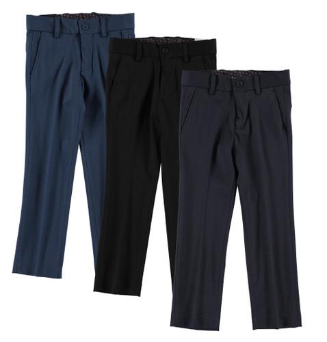 Boys Slim Fit Stretch Pants