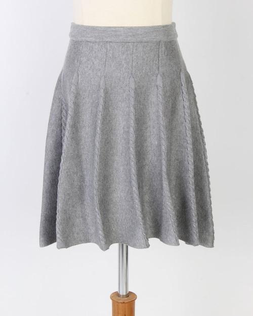 BGDK Braided Knit Skater Skirt