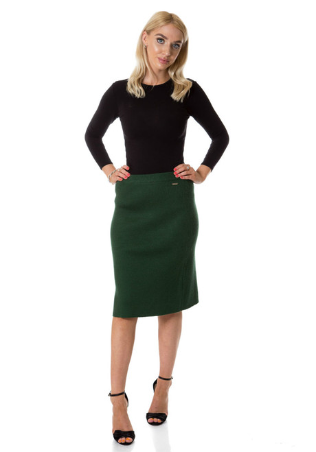 BGDK Ladies Sweater Knit Skirt
