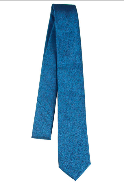 Boys Teal Graphite Tie