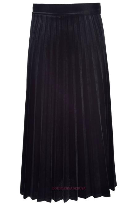 Girl's Long Velour Skirt