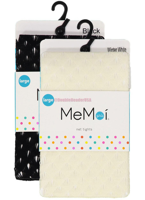 Memoi Girls Deco Net Tights