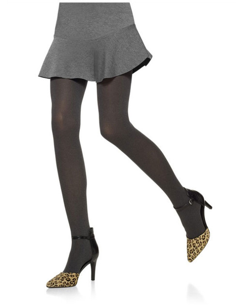 d304be80f Hue Super Opaque Control Top Tights - Double Header USA