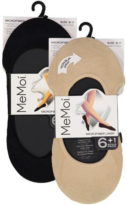 b826a6cfe14 Memoi Womens Microfiber Shoe Liner 6 Pack