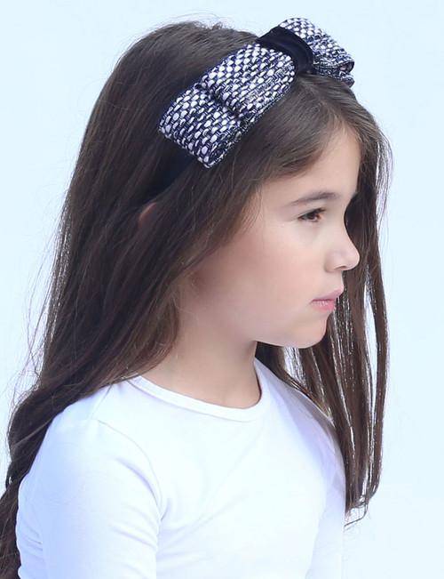 Riqki Melody Bow Top Headband