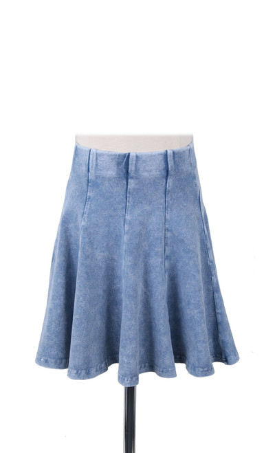 Kiki Riki Stone Wash Girl's Panel Skirt