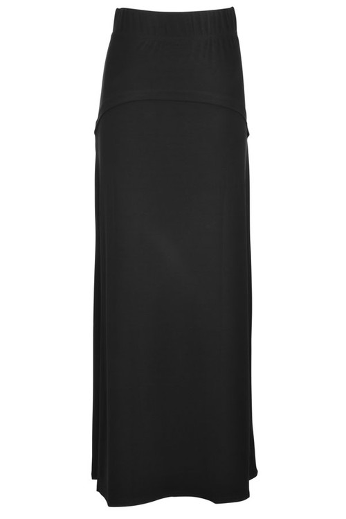 2a371db28c BGDK Ladies Panel Long Slinky Skirt - Double Header USA