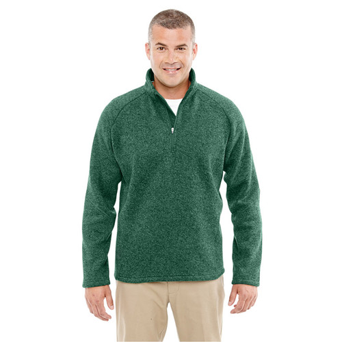 672ecb9dec27 Devon   Jones Adult Bristol Sweater Fleece Quarter-Zip - Hoodies ...