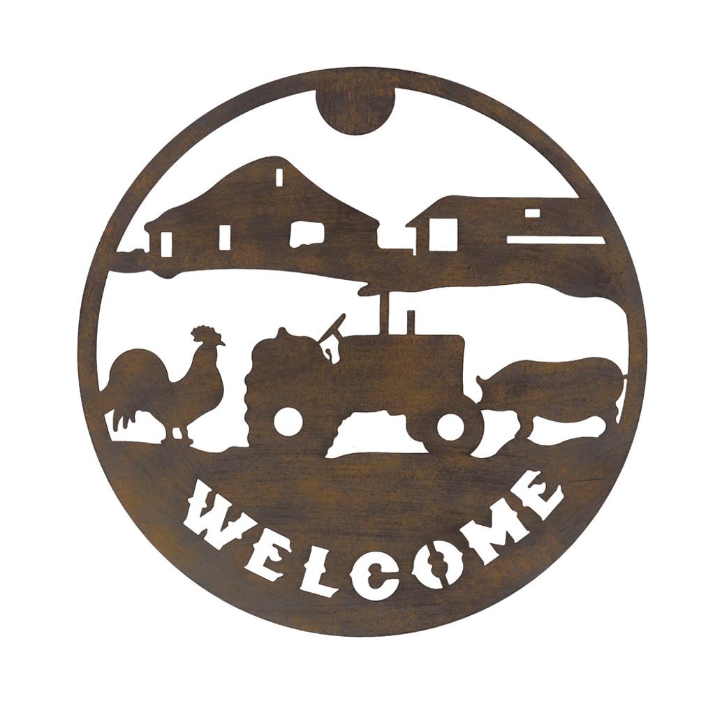 WELCOME FARM WALL ART - YH2001