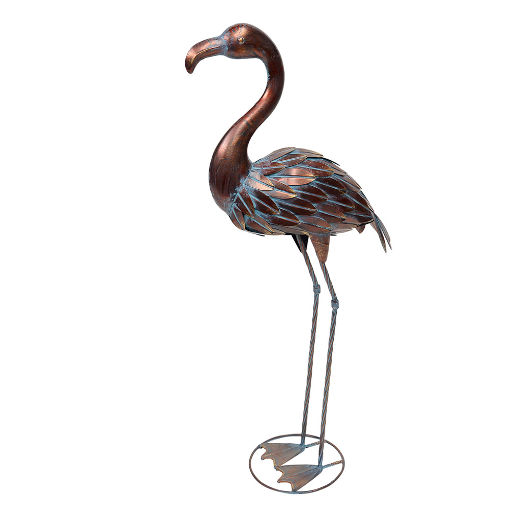 BRONZE FLAMINGO - QX19998