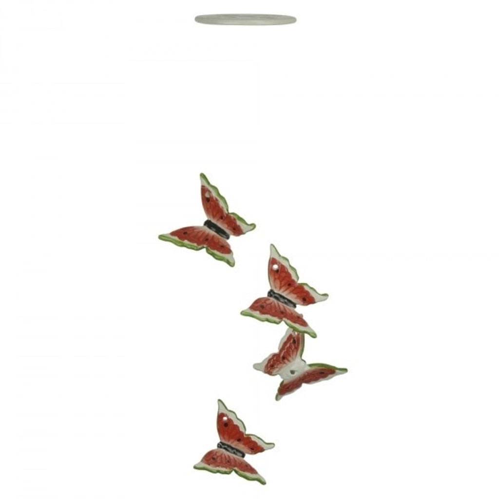 3D Red Butterflies - PW14013