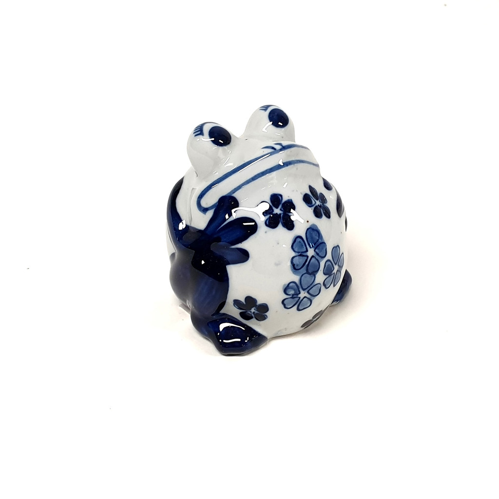 Blue and White Frog - PE1021