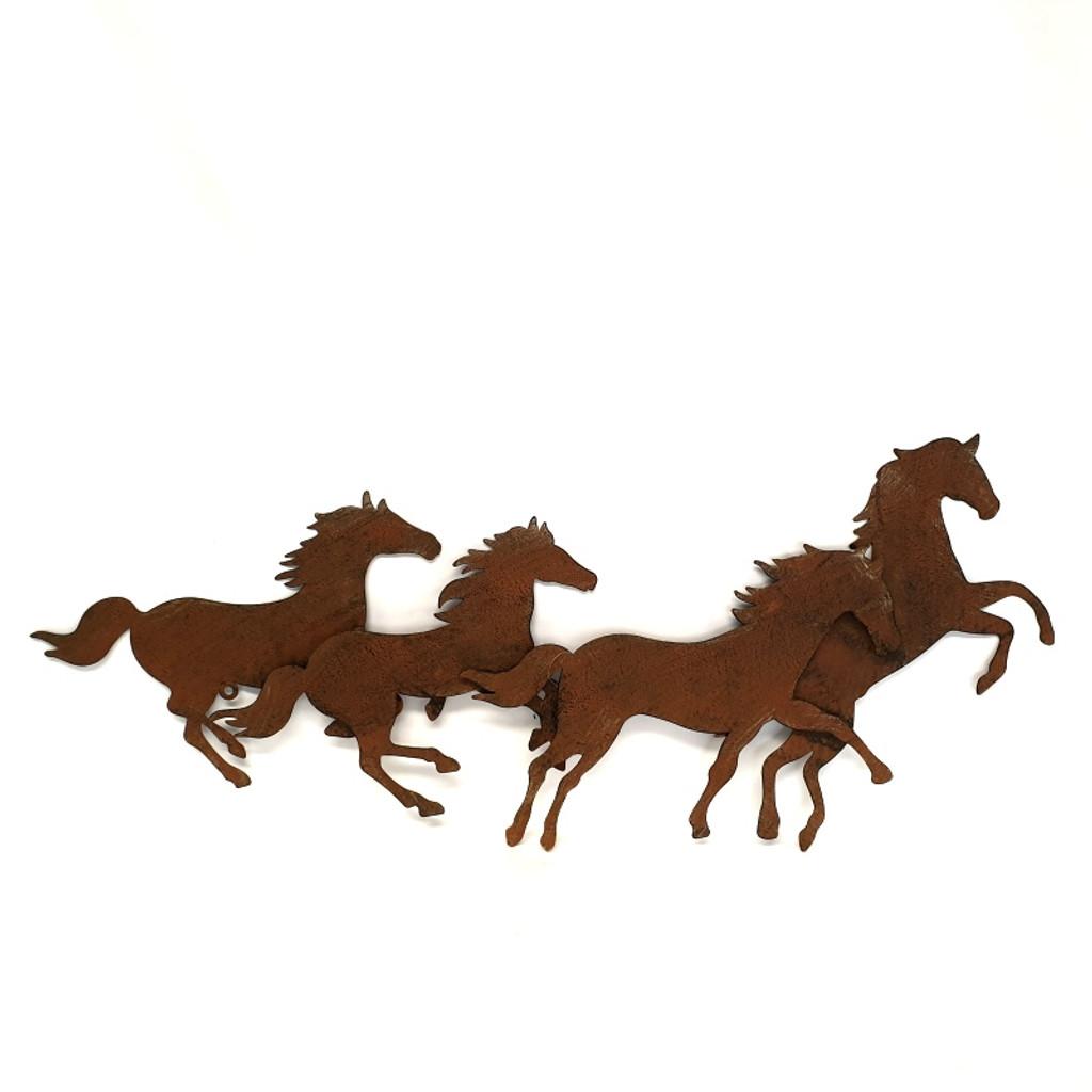 Running Horses Wall Art - YH2026