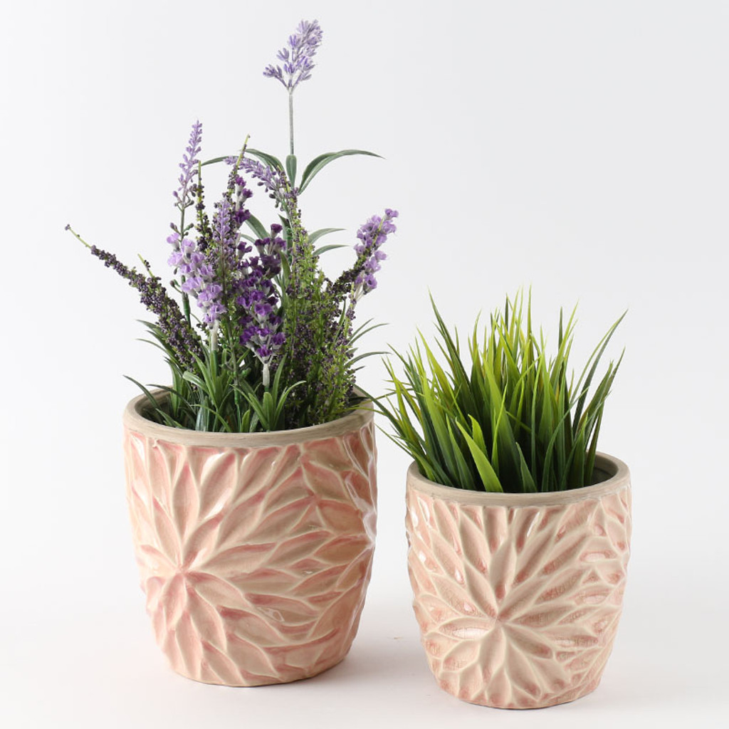 BLUSH PETAL POT MEDIUM - SY011