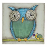 Wall Art Square Owl - EH30018