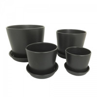 Set of 4 - Top diameter 13cm to 25cm