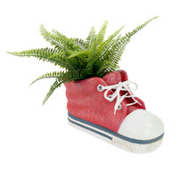 NOVELTY RED SNEAKER PLANTER - LF003