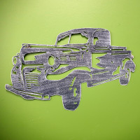 Farm Truck Wall Art - YH2021