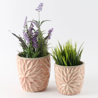 BLUSH PETAL POT SMALL - SY012