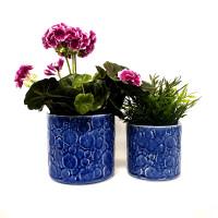 BLUE BUBBLE POT SET 2 - SS1023