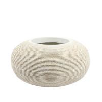 WHITE ROPE POT-CZ010