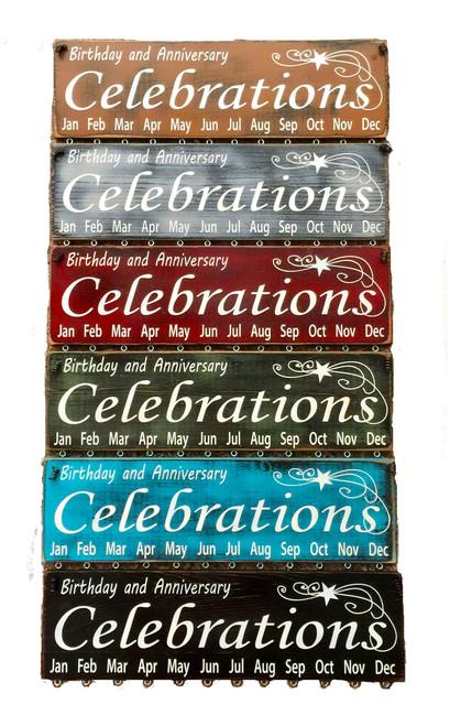 Birthday & Anniversary Celebrations Birthday Calendars