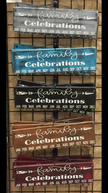Family Celebrations with Arrow Birthday Calendars
