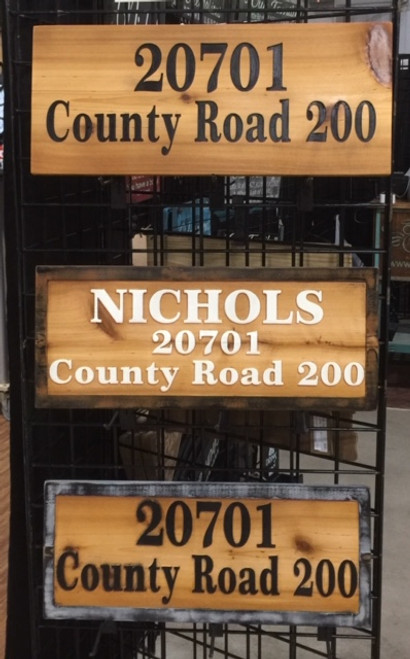 Address & Name Custom Wooden Signs Name, Address, Funny, Pet Signs, Fence Signs, Entrance Signs