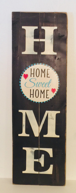 Home Sign with Changeable Velcro Circles