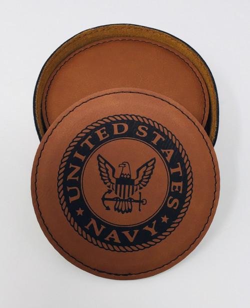 Navy - Coaster Set