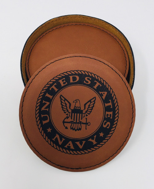 Navy - Coaster Set