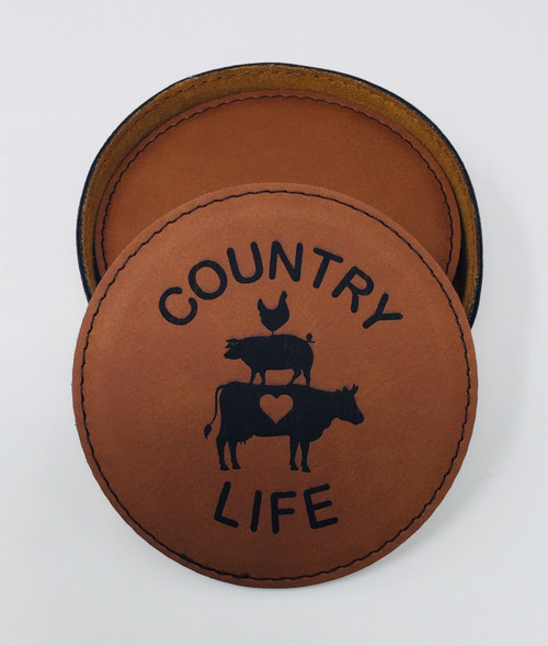 Country Life Coaster Set