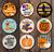 "Fall Collection - 8"" Circles"
