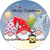 "8"" Velcro Circle - Christmas Gnomes"