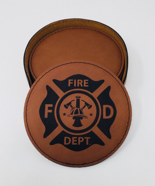 Fire and Rescue Coaster Set