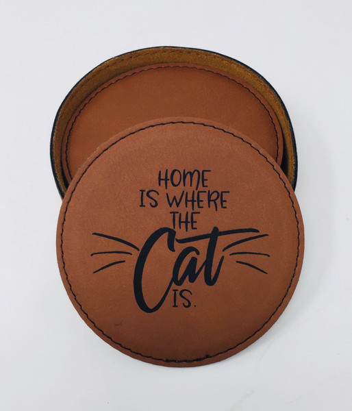 Cat - Coaster Set