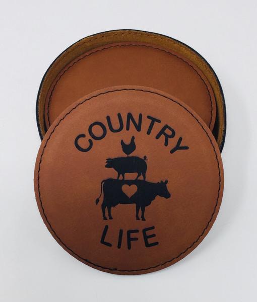 Country Life Coaster Set