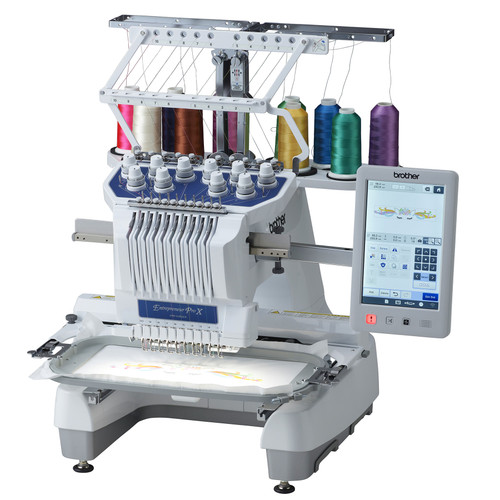 Brother PR1055X Entrepreneur® Pro X Sewing, Quilting & Embroidery Machine