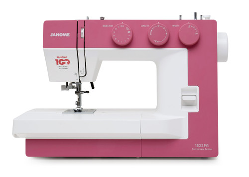 Janome 1522PG (Pink - Anniversary Edition) Sewing Machine