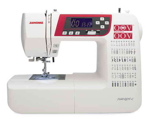 Janome 3160 QOV-C (Quilts of Valour) Sewing  and Quilting Machine