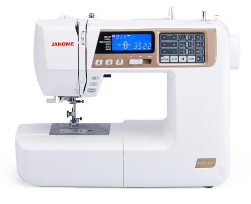 Janome 4120QDC (Quilters Décor Computerized)
