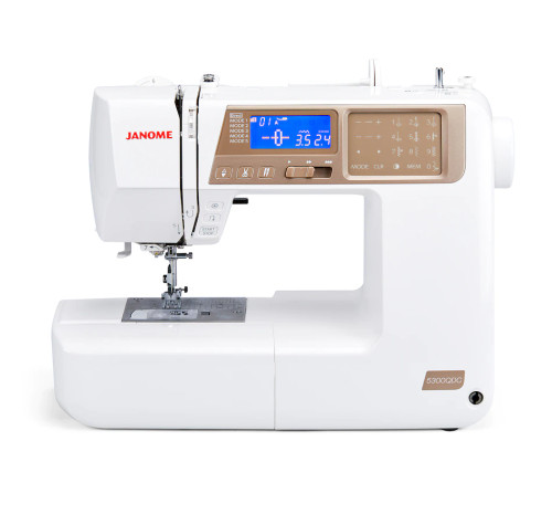 Janome 5300 QDC (Gold Face Quilters Décor) Sewing and Quilting Machine