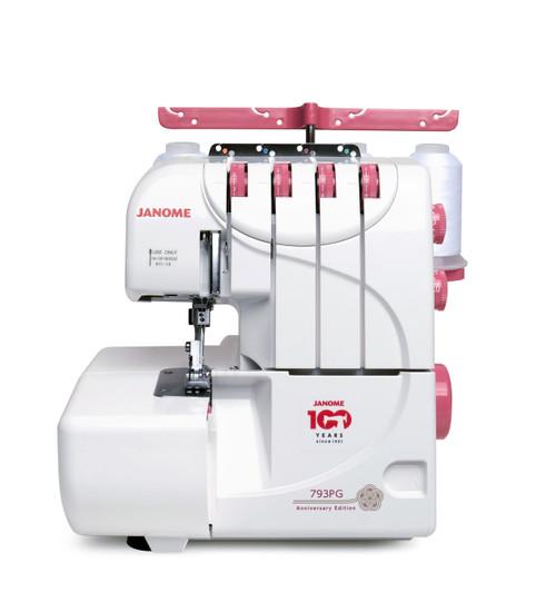 Janome 793PG (Pink - Anniversary Edition) Serger Overlock Machine
