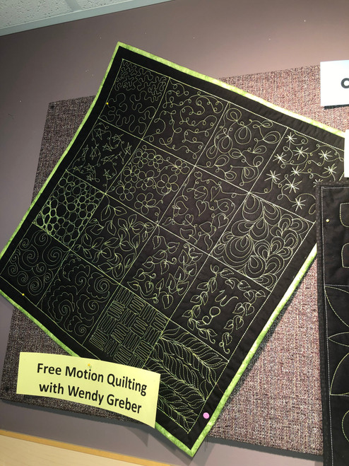 Beginners Free Motion Quilting Class with Wendy – Class #2