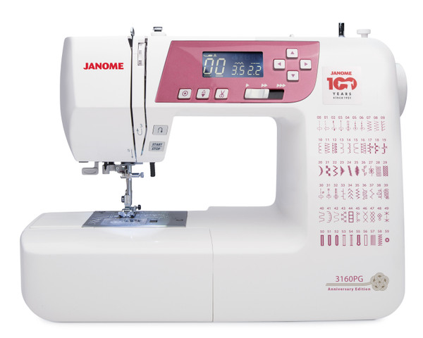 Janome 3160PG (Anniversary Edition)