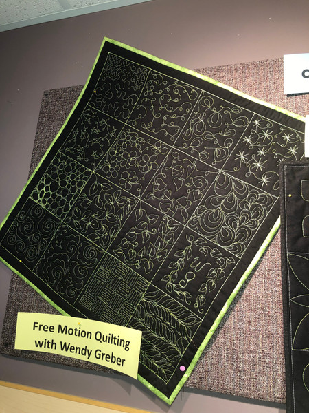 Beginners Free Motion Quilting Class with Wendy – Class #1