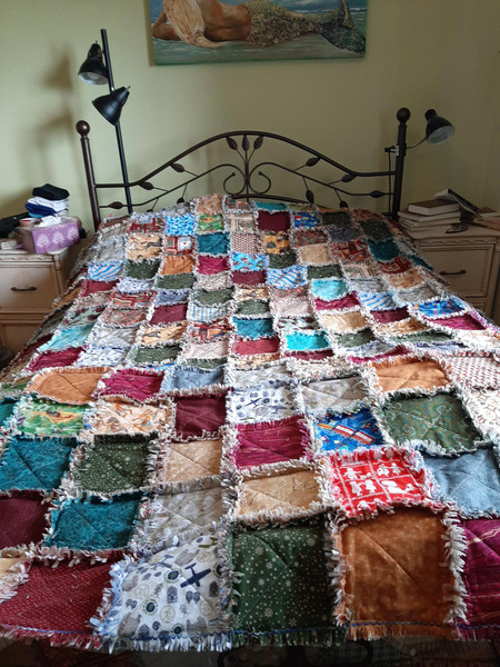 Rag Quilting Class with Shirley Toner