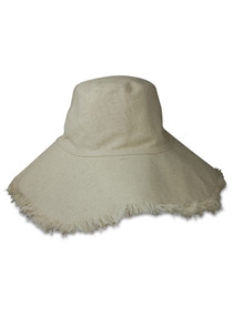 603 CANVAS PACKABLE HAT - NATURAL